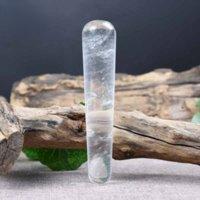 Weiß Schmelzende Kristall Schönheit Massage Stick Acupoint Jade Tendon Gesichtsauge Direktverkäufe