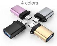 Adattatore USB C a USB compatibile con supporto OTG Type-C a USB 3.0 ad alta velocità Connect con tastiera del telefono Fotocamera fotocamera MIC U disco audio disco