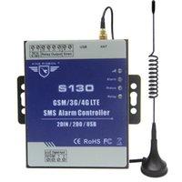 3G 4G SMS 원격 컨트롤러 알람 시스템 2 DIN DOUT RTU 자동화 모니터링 시스템 용