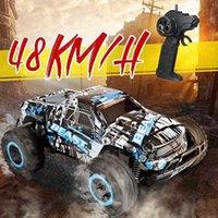 RC 2WD 1:20 2.4 ГГц гоночный электрический монстр грузовик дети подарок новинка