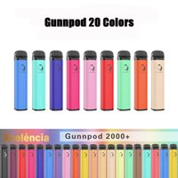 Top quality GunnPod cigarette Disposable E-cigarettes Device Kit 2000 Puffs A Grade 1750mAh Battery Prefilled 8ml Pod Stick Vape Pen