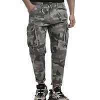 Men's Pants Nice High Quality Mens Camo Cargo Men Hip Hop Multi Pocket Streetwear Jogging Casual Military Cotton Trousers