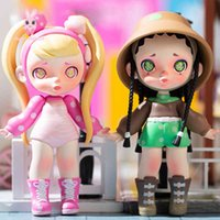 Blind Box Toys Laura Fruit Series Guess Bag Caja Ciega Toy Anime Figures Cute Model Girl Birthday Gift