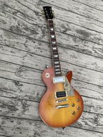 노인 / 유물 맞춤형 일렉트릭 기타, 단단한 메이플 캡, 원피스 바디 넥, 크롬 하드웨어