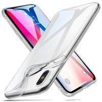 Custodie trasparenti trasparenti in silicone in TPU ultra sottili per iPhone 13 12 Pro Max 11 XS XR x 8 7 6 6S Plus Samsung LG Android Phone