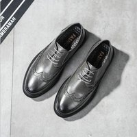 Dress Shoes Fashion Men Business Formal Casual Flats Wedding Leather Oxfords Round Toe 559 Jk90