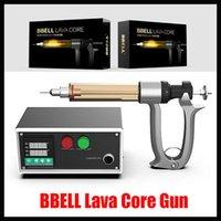 Original Bbell Lava 핵심 카트 필러 25ml 50ml vape 카트리지에 대 한 오일 충전 기계 반자동 주입 총 100 % 정통 케이크 델타 8 그리스 총