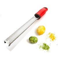 أدوات الجبن مبشرة الحمضيات الليمون اسستر الخضروات الحلاقة-حادة الفولاذ المقاوم للصدأ شفرة غطاء حماية EWE6518