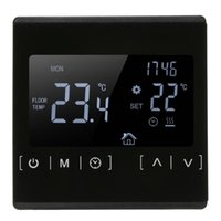 Smart Home Control LCD Touch Screen Thermostat Electric Floor Heating System Water Thermoregulator AC85-240V Temperature Controller
