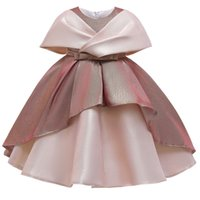 Kids Pageant Party Dress for Girls Birthday Wear Children Formal Clothes Elegant Baby Girl Christmas Costume Evening Dresses 4-10T