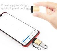 USB C à adaptateur Compatible OTG Type-C 3.0 High Speed Connectez-vous avec clavier de téléphone Caméra de la souris Mic U Disk Carte audio