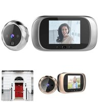Doorbells Wireless Video Doorbell 2.8inch TFT LCD Screen Welcome Door Bell Home Security With Night Vision Motion For Apartment