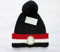 Lüks Kasketleri Yüksekliği Kaliteli Erkekler Ve Yün Örme Şapka Klasik Spor Kafatası Kapaklar Kadınlar High-end Rahat Gorros Bonnet 296