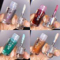 Lip Gloss 1PC 5colors Mini Lipstick Mirror Glaze Toot Easy To Color Waterproof Moisturize Makeup Cosmetics Portable TSLM2