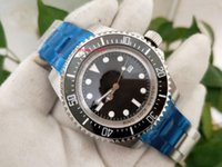 Topselling Высококачественные наручные часы 44 мм Морской обитатель 116660 Черный циферблат керамический BEZEL ASIA 2813 Механические автоматические мужские часы часов