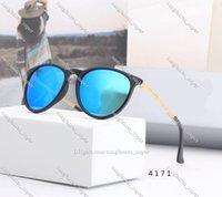 أعلى جودة الاستقطاب النظارات الشمسية النساء الرجال راي 4171 نظارات الشمس أزياء عظم العيون uv400 الحماية العدسات دي سولي يتضمن الملحقات تنقل