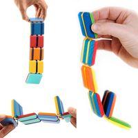 DHL الأطفال تململ لعبة flipo فليب ملون رفرف خشبي سلم تغيير الوهم البصري الجدة الضغط هدية