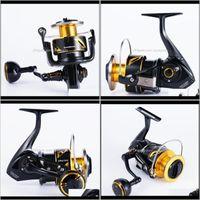 Baitcasting Reels Pesca Deportes al aire libre Drop Entrega 2021 Japón Made Lurekiller Jigging Reel de agua salada SW4000XG / SW5000XG / SW6000HG / SW1000