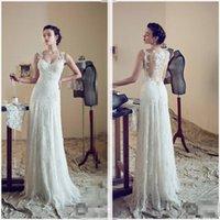 Bridesmaid Dress Designer Sexy Illusion Couture Sheer Cap Sleeve Lace Appliques 2021 Sheath Court Train Bridal Gown Dresses