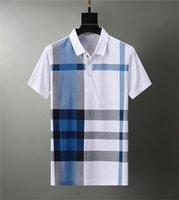 Luxurys Designer Mens Shirt Hip Hop Mode Brief Druck Kurzarm Hohe Qualität und Frauen Polo Größe M-3XL # 09