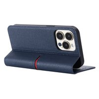Aristocratic Peerless Exquisite Magnetic Clip Flip Cell Phone Cases Cattle Skin Sticker Cover Luxury Genuine Leather Case For Apple Iphone 13 Pro