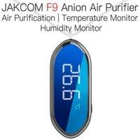 Jakcom F9 الذكية قلادة أنيون لتنقية الهواء منتج جديد من الساعات الذكية كرق سوار ذكي i9 سوار ECG Smartwach