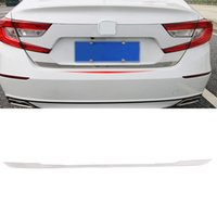 Car Accessories Sticker Stainless Trunk Door Tailgate Trim Pad Cover Frame Exterior Decoration for Honda Accord 10th 2018-2020