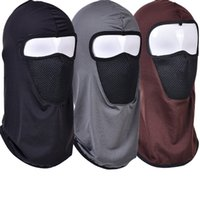 Unisex Balaclava Scarf Ski Cycling Hood Full Face Cover Mask Motorcycle Sun Protection And Dust Wind Proof Headgear Riding Hat XDJ093