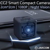 Jakcom CC2 كاميرا مدمجة منتج جديد من كاميرات صغيرة كما نظارات الفيديو كاميرا IP WIFI ساعة كاميرا