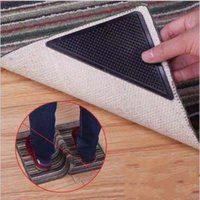 Rug Grippers Non Slip Anti Curling Pad Floor Mats Resuable Washable Rugs Tape for Hardwood Floors