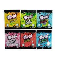 Trolli Trrlli Empty Edibles Mylar Bag Package Gummies Baggie Smellproof Dustproof 600mg Retail Pouch for Dry Herb Stash