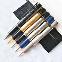 Andy Warhol حبر جاف القلم تخفيف برميل الكتابة smoth القرطاسية الفاخرة + أزرار أكمام + مربع مجموعة + عبوات هدية + الحقيبة أفخم
