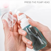 30ml 60ml 100ml Empty Plastic Mist Spray bottle Cosmetics Packaging Container Travel Refillable Skincare