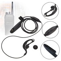 Headphones For Motorola HT750 HT1250 GP328 GP329 GP340 GP380 MTX850 PRO5150 Walkie Talkie