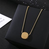 2021 Original 925 Silver Love Necklace Charm Heart Pendant Necklace Key Women Heart Charm Jewelry Gift Clavicle Chain with box