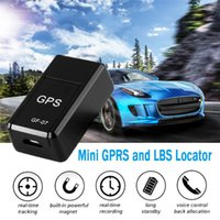 Car GPS & Accessories 2G GPRS Tracker LBS Location Magnetic GSM Tracking Device For Vehicle Pet Child Anti-Lost Voice Recording GF-07