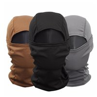 Cycling Caps & Masks Tactical Balaclava Full Face Mask Military Camouflage Wargame Helmet Liner Cap Bicycle Ski Scarf