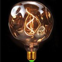 Ampuller Retro Ampul LED G125 Taş Işık 4 W Dim 220 V 110 V Filament Dekorasyon Edison