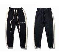 Tanrı korkusu Çift parça Essentials Sis Rahat Pantolon Baskılı Pamuk Spor Jogger Tipi Erkekler Harem Giysi Bahar Sonbahar Kaburga Pantolon Sweatpants Boyutu M-XXL