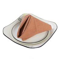 30x45см Чистое льняное и хлопковая смесь ткань ткань салфетки Японский стиль многоразовый стол для кухонной столовой свадебные украшения салфетки