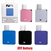 Оригинальный аккумулятор ZFIT 350 мАч переменное напряжение батареи напряжения Wattage MOD Vape Peen совместимы с толстым маслом ZPOD POD картридж 100% подлинный