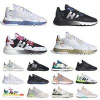 2021 Arrivée Nite Jogger Original Hommes Running Chaussures Extérieur Triple Noir Tous les Joggers Blanc Joggers Fierie Cloud Baskets Femme Baskets Femmes Taille 36-45