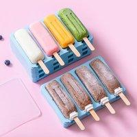 Stampi da forno Simple Popsicle Stampo in silicone Stampo Giacarlo Set Pratico vassoio cubo fai da te Attrezzo fatto a mano Strumento di caramelle
