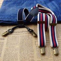 Bretelles Bretelles Bretelles Clip Vintage sur les bretelles réglables Bretelles Heavy Dossier Heavy Dos Back Clip sur Unisexe
