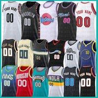 Özel Herhangi Adı Herhangi Bir Numara Film Alanı Reçel Tune Squad Jersey 2020 2021 Yeni Mesh Retro Los Özel Angeles Erkek Basketbol Formaları