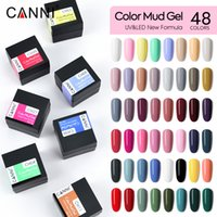 51025K CANNI Mud Painting Color Gel 48 Colors Kit UV&LED Soak Off Nail Art