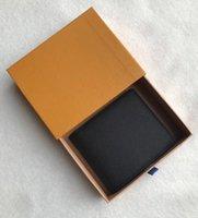 Designer Paris xadrez estilo homens carteira de luxo homens bolsa especial multiplicatrist letalhas bifold pequenas com caixa