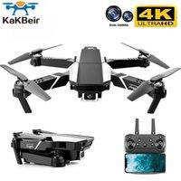 Kakbei DEUTAOWILL DRONE 4K HD Dual Cam Visuelle Positionierung 1080P Wifi FPV Höhenkonservierung RC Quadcopter S62 Pro Drohnen Spielzeug 210607