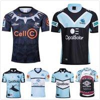 2021 Soccer Jersey Cronulla-Sutherland Sharks Camisa indígena Nrl Rugby League Jerseys 1718 Retro Austrália Maillot de