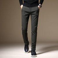 Men's Pants Male Jeans Men Classic Vetement Peto Vaquero Hombre Biker Black Green Masculina Slim Fit Man Trousers